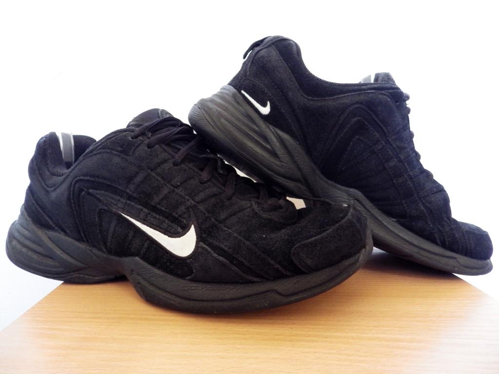 Мужские кроссовки Nike T-Lite VIII NL 100% Оригинал р-р 42,5 (27 см)  (б/у,сток) original найк чёрные