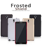 Чехол для Samsung Galaxy Note 3 Neo N7505/7502 - Nillkin Super Frosted Shield (пленка в комплекте)