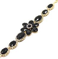 Браслет Black Flower Fashion Jewerly