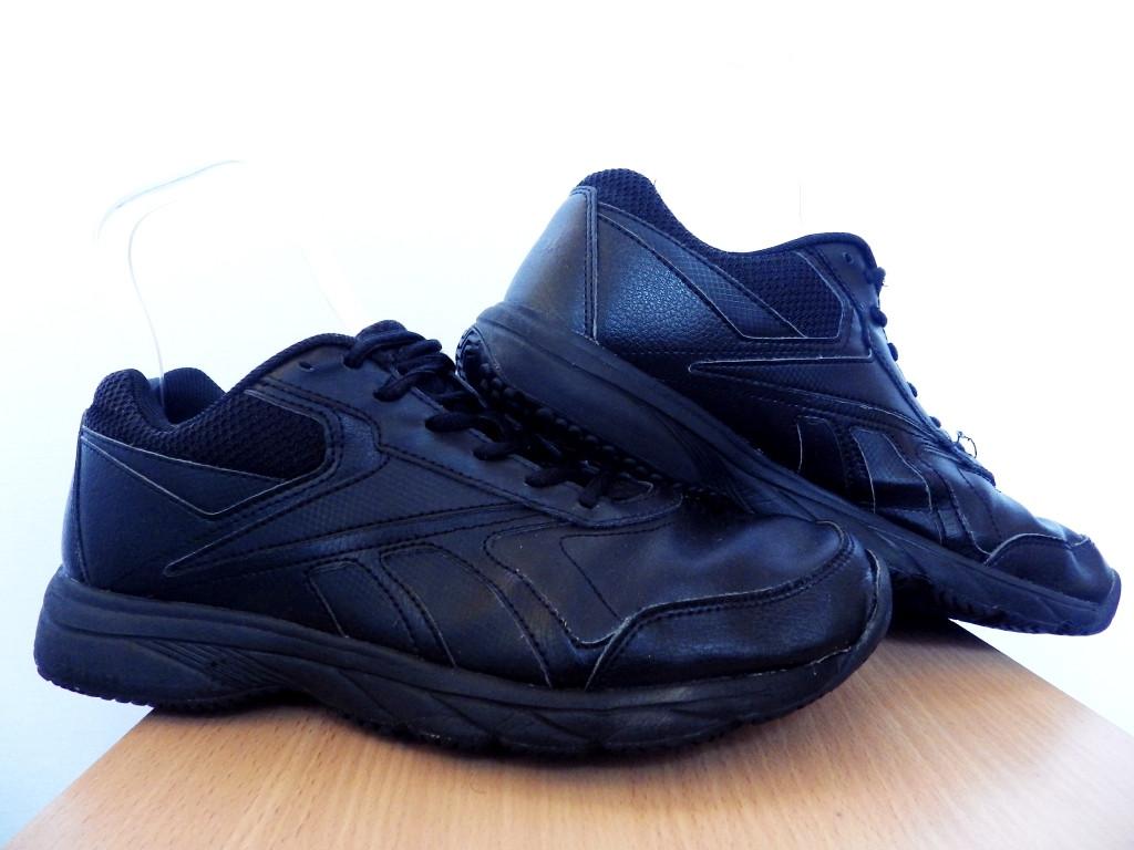 Мужские кроссовки Reebok 100% Оригинал р-р 41 (26,5 см)  (б/у,сток) original рибок чёрные