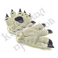 Лапы-перчатки Кигуруми (серые), фото 1