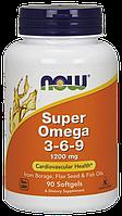 Now Foods Super Omega 3-6-9 1200 mg 180 softgel
