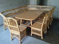 """Плетеный набор мебели""""Уголок из лозы"""", фото 1"""