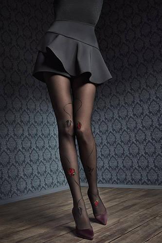 a749871ab01e Колготки фантазийные Marilyn Gucci G44 3/4 Nero