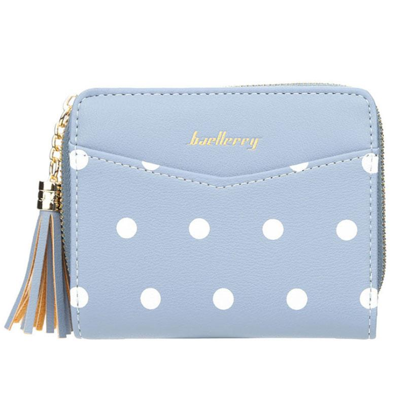 Жіночий гаманець BAELLERRY Ladies Short клатч Блакитний (SUN2839)