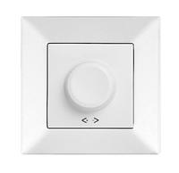 Светорегулятор, диммер 600W RL поворотный белый, крем Viko Meridian
