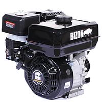 Двигатель бензиновый Bizon 170F (7 л. с., под шпонку, 2-х ручьевой шкив в к-те) оригинал