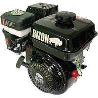 Двигатель бензиновый Bizon 170F (7 л. с., вал шлицевой Ø25 мм) оригинал