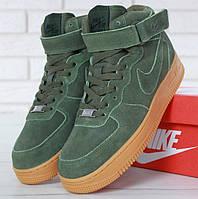 Зимние мужские кроссовки в стиле Nike Air Force 1 High