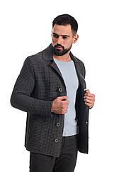 Трикотажный пиджак SVTR 52 Темно-серый 389, КОД: 274579
