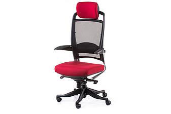 Крісло офісне Fulkrum dееprеd fabric, black меѕһ