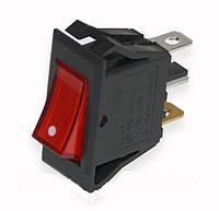 Кнопка узкая утолщенная 3 pin  для сетевого фильтра 220V ST 145