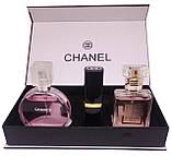 Подарочный набор Chanel 3 in 1, фото 3