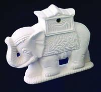 Индийский слон керамический h=60мм  М116, фото 1