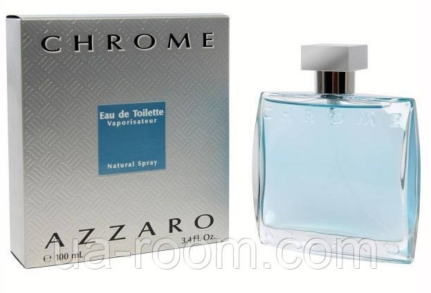 Azzaro Chrome, мужская туалетная вoда100 мл., фото 2