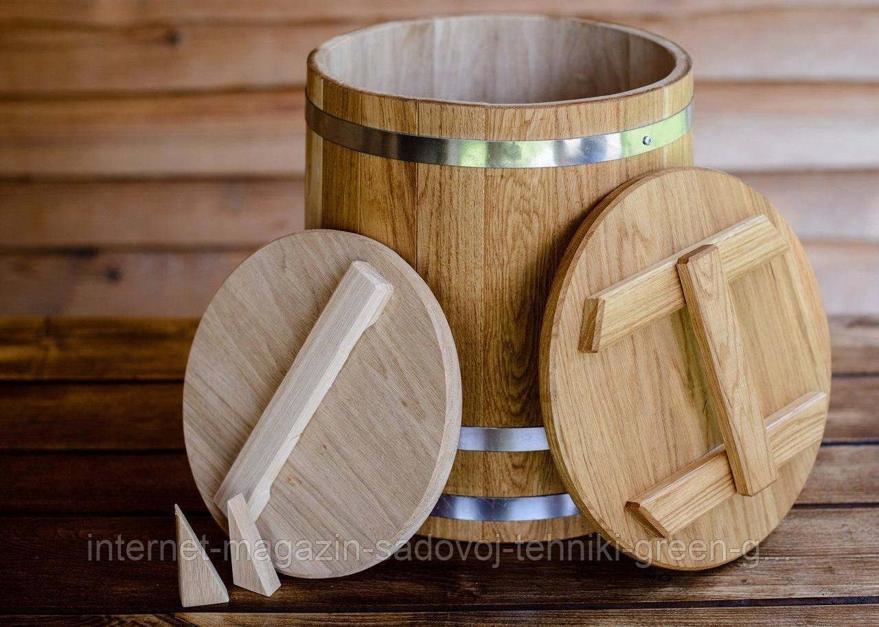 Кадка дубовая для солений 80 литров
