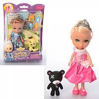 Кукла 86013, 16см, животное, аксессуары, микс видов, в слюде, 16-22-5, 5см