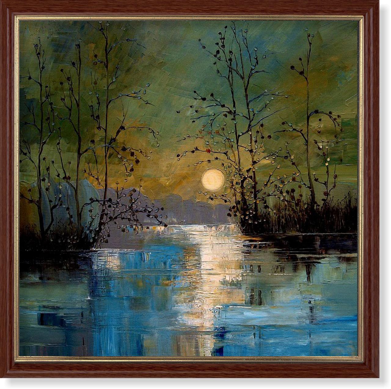 Репродукция  современной картины «Луна III»