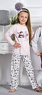 Пижама для девочки Taro 122-140 (1167-01 Oda)