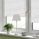 Рулонные шторы Узор морозный, фото 3