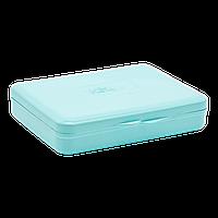 Коробка для гигиенических прокладок бирюзовая
