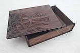 Дерев'яна коробка для фотографій 15х20 см, фото 4