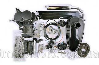 Веломотор оригинал / дырчик 80 см3 чёрный со стартером , фото 3