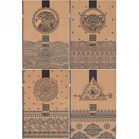Ежедневник недатированный «КРАФТ» 18242–18245 , А5 160 л. 7 БЦ,англ. блок