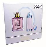 Подарочный набор Chanel Coco Mademoiselle (парфюм 100 ml и атомайзер 7,5 ml), фото 3