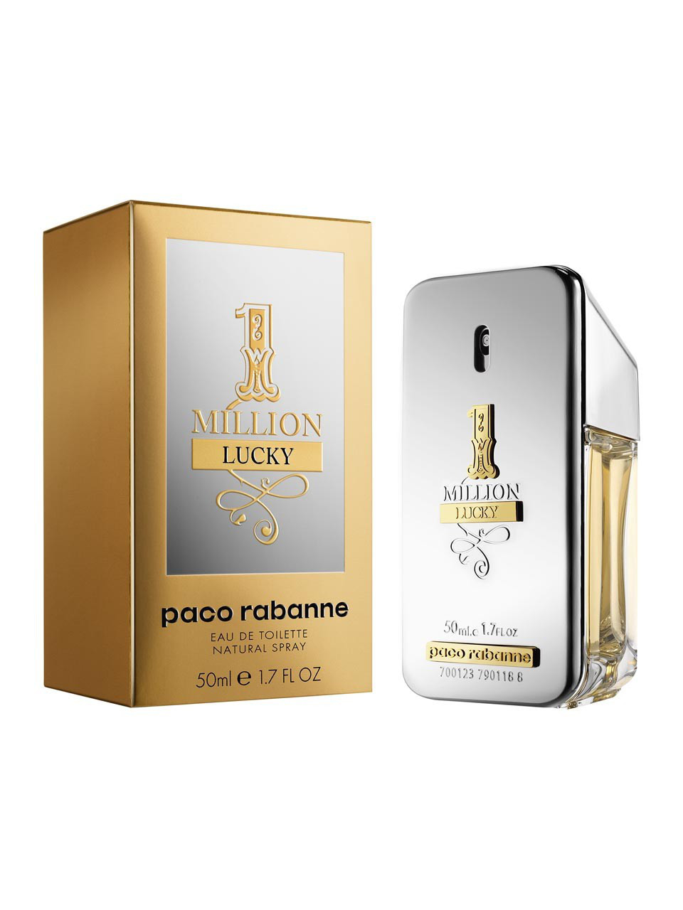 Тестер Paco Rabanne 1 Million Lucky edt 100ml