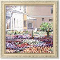 Репродукция  современной картины «Цветочный ковёр»