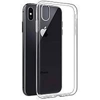 Прозрачный силиконовый чехол-накладка Oucase для Apple IPhone XR