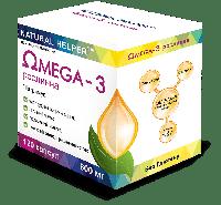 "Витаминный комплекс ""NATURAL HELPER"" Омега-3, 120 капсул"