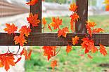Осенняя оранжевая  лиана клён искусственная 14 метров 3M9, фото 9