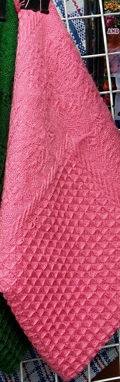 Теплый платок большой