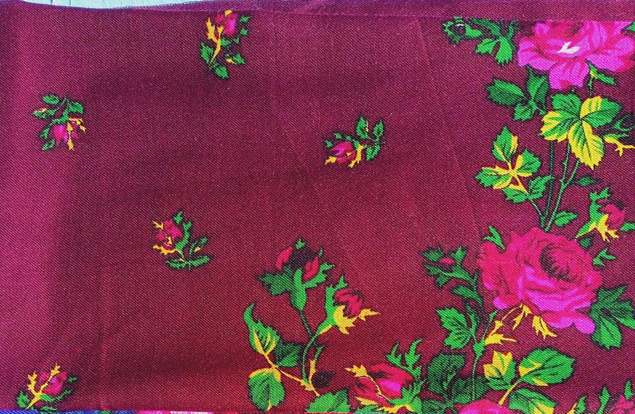 Головной платок с цветами