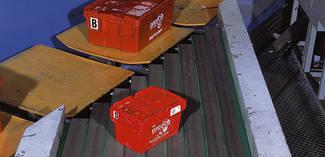 Транспортерні стрічки Нabasit для логістичного обладнання, пошти,супермаркетів, аеропортів