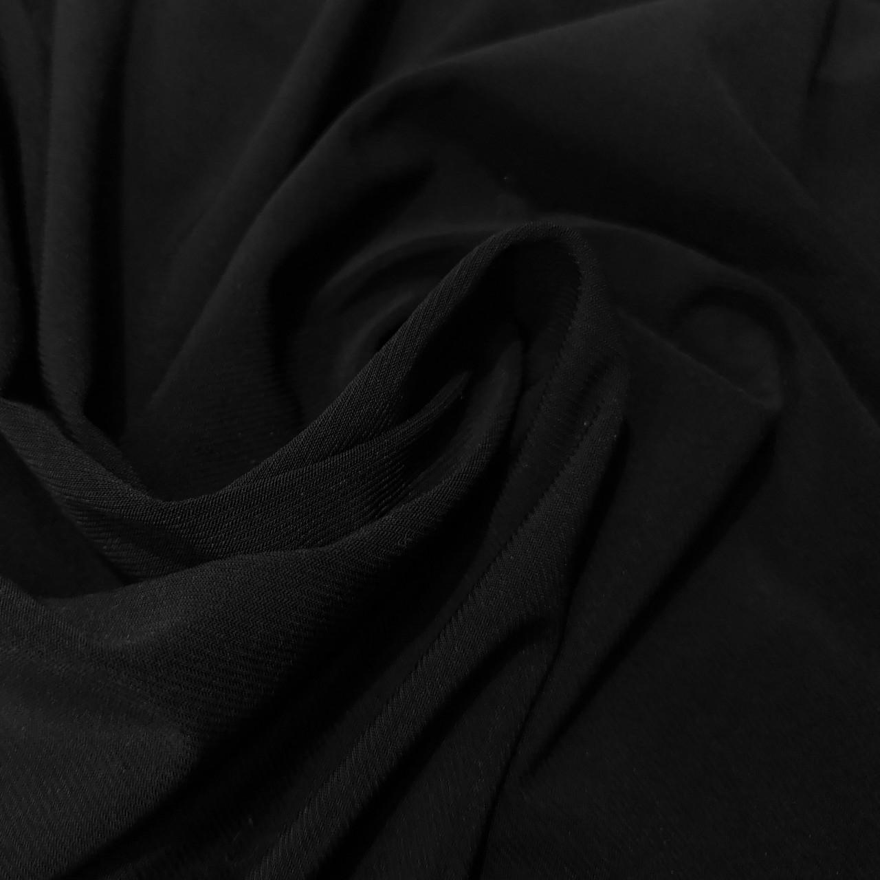 Трикотаж масло Kora Корея черный
