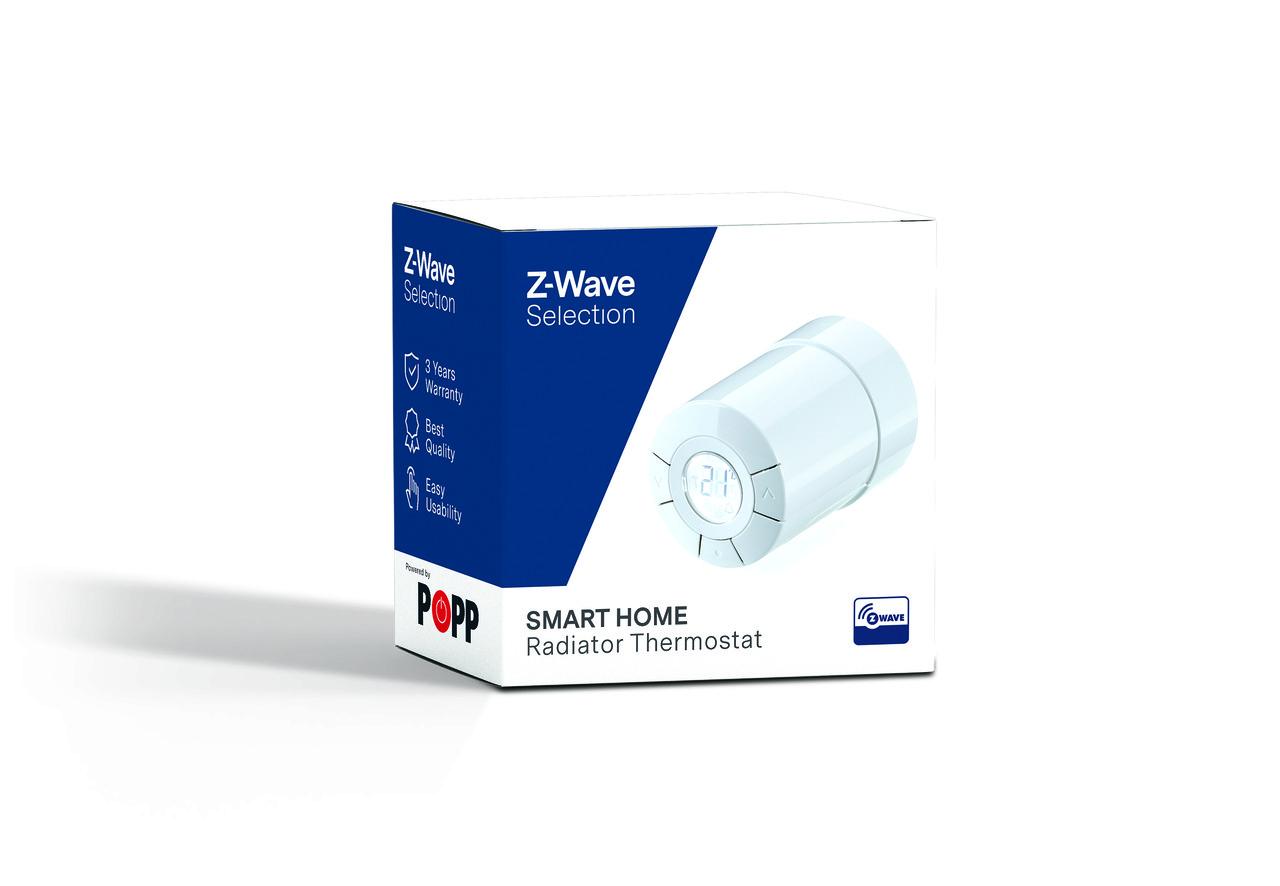 Радиаторный термостат Z-Wave Selection для M30x1.5/RA клапанов — ZWSERT