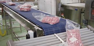 """Транспортерні стрічки Habasit для виробництва м""""яса, птиці та морепродуктів"""