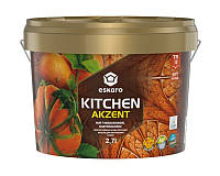 Краска акрилатная ESKARO KITCHEN для кухни транспарентная-база А 2,7л