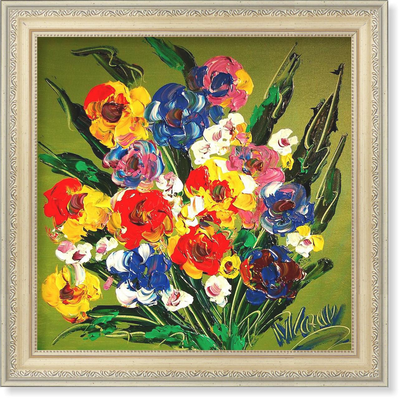 Репродукция  современной картины «Цветочная фантазия XVI»