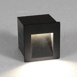 Вуличний вбудований світильник Step LED Graphite 6907 Nowodvorski