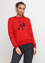 Женская спортивная кофта Marilyn Monroe красного цвета (люкс копия)