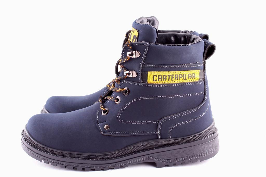 Зимние мужские ботинки в стиле CAT. Размер 41