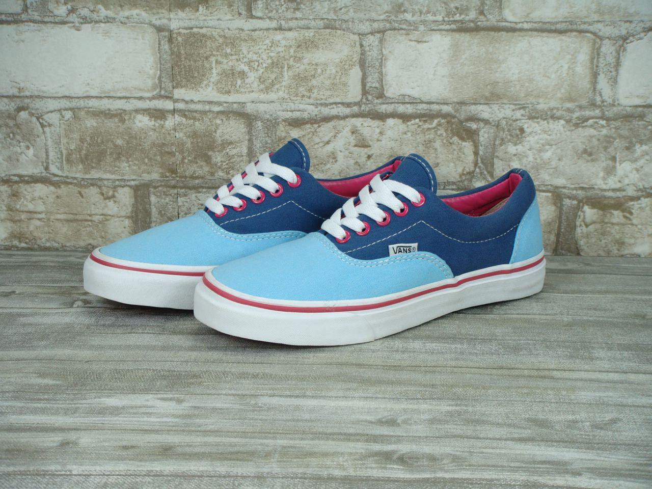 Кеды женские Vans Era 31036 сине-голубые