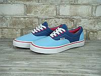 Кеды женские Vans Era 31036 сине-голубые, фото 1