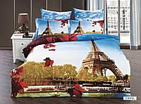 Постельное белье  Сатин 3D Эксклюзив  евро произ-во Турция  торговая марка ARYA