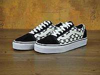 Кеды мужские Supreme & Vans Old Skool 31042 черно-белые, фото 1