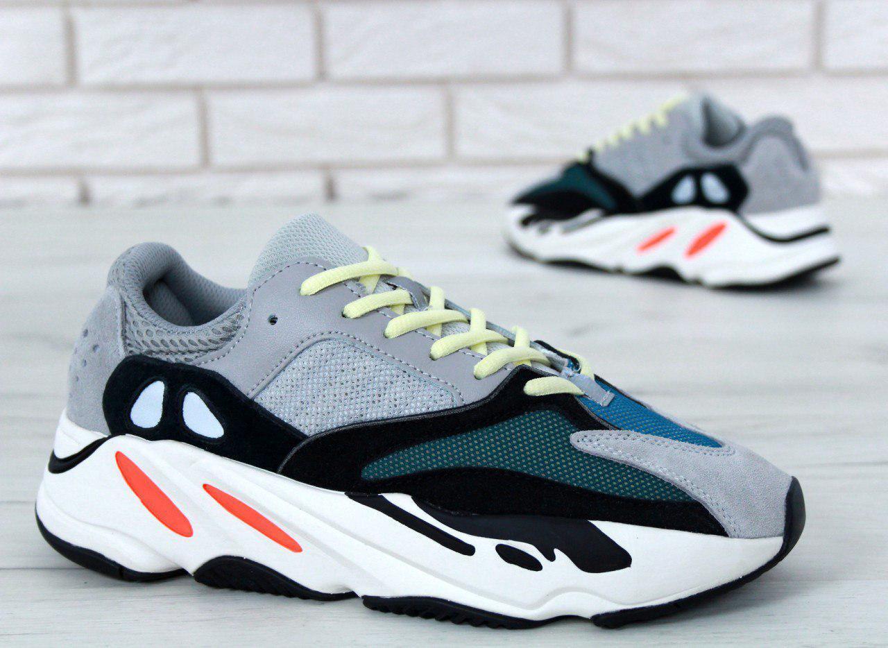 Кроссовки женские Adidas Yeezy Boost 700 31016 разноцветные